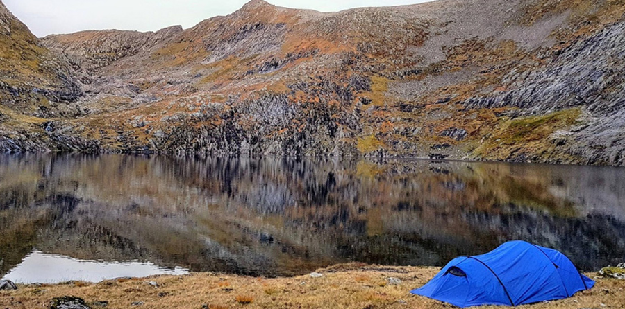 solo camping tents