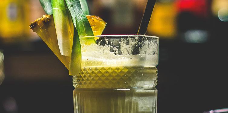 Tropical smoothie shake