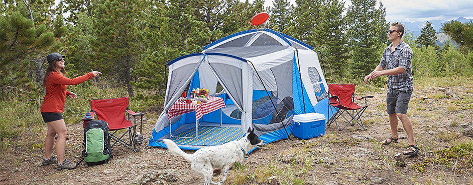 Blow-Up Tents