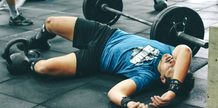 how hard should you push yourself during a workout