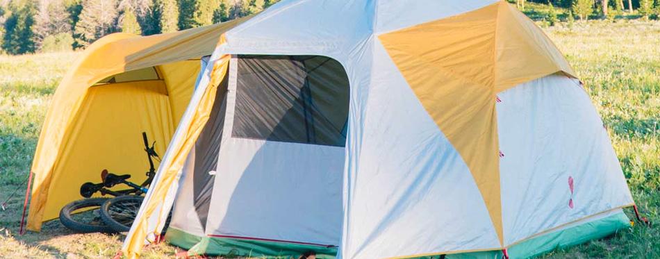 large Eureka tent