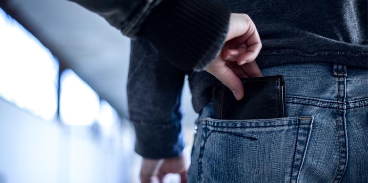 wallet theft