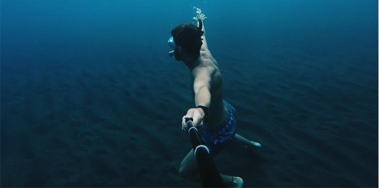 gopro underwater