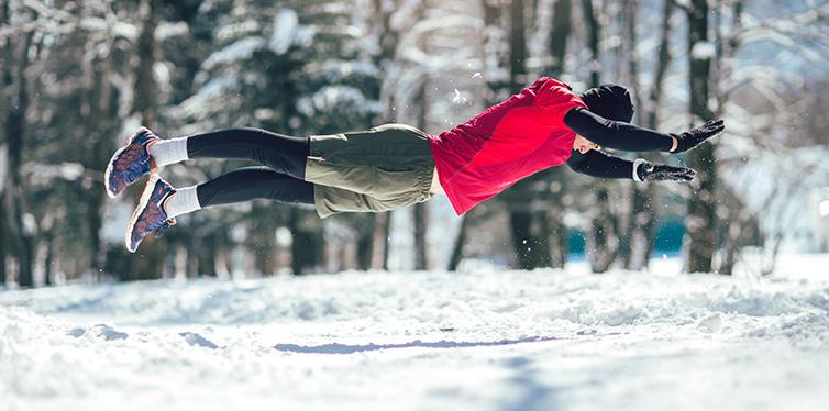 training in winter
