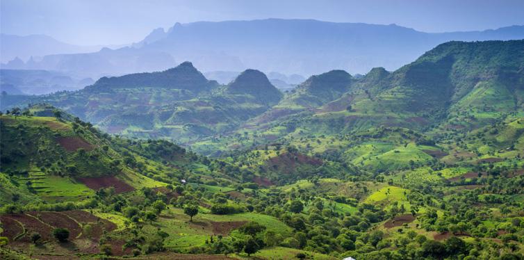 Siemen Mountains