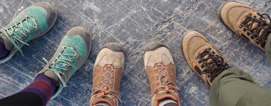 people wearing hiking socks