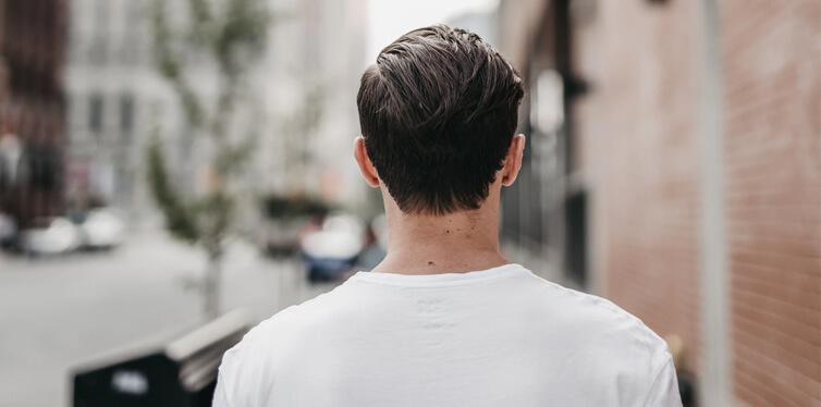 Slick Back Hair