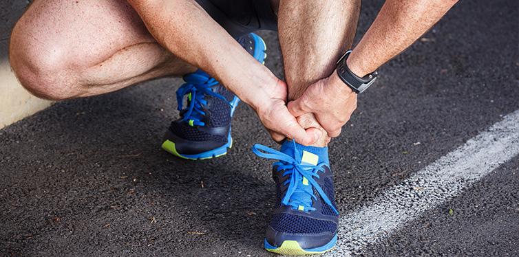 ankle sprain running sport injury