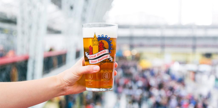 the great british beer festival, london uk