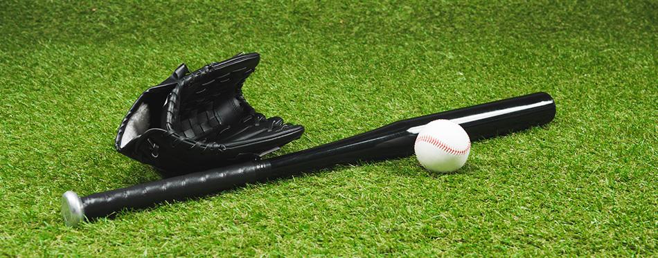 black baseball bat