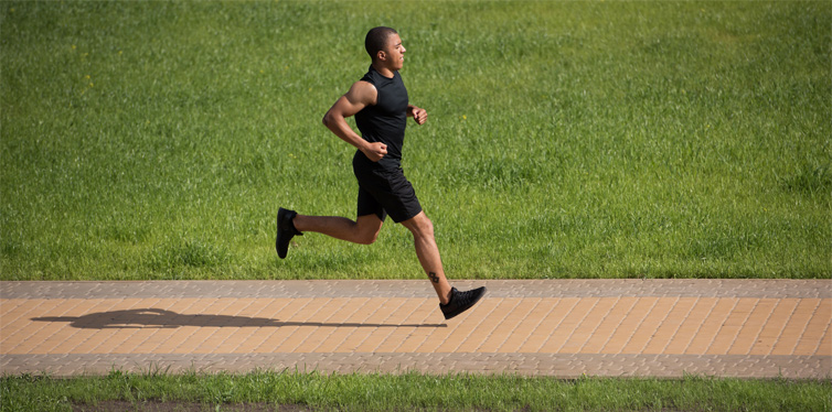 interval jogging