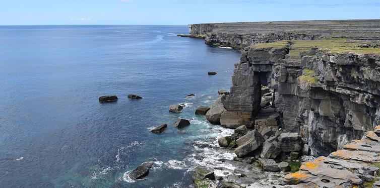 serpent's lair in aran islands, ireland