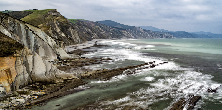 spain zumaia flysch route