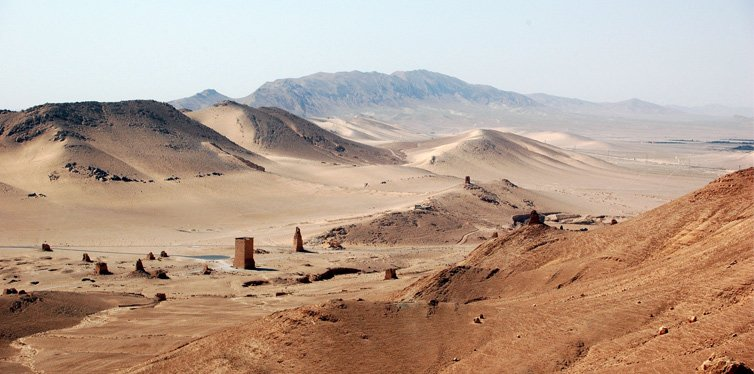 the syrian desert, middle east