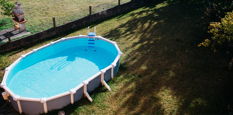 above ground home pool