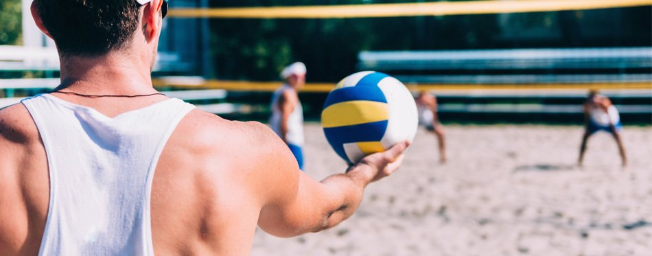 best beach volleyballs