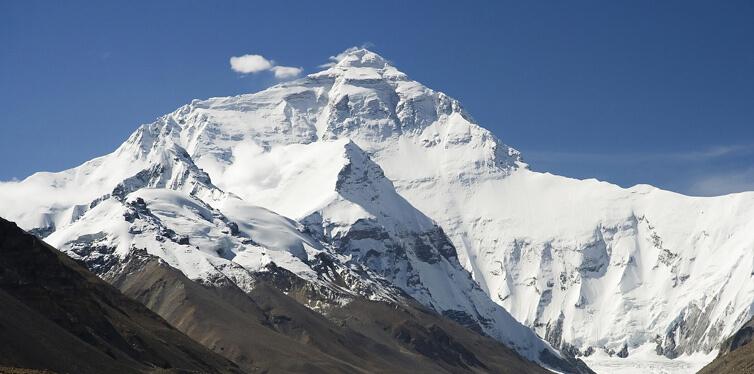 everest, nepal – china border