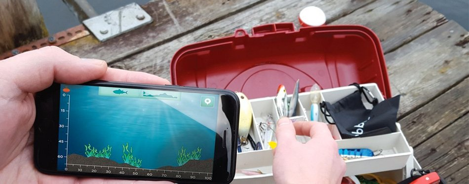 fish finder portable