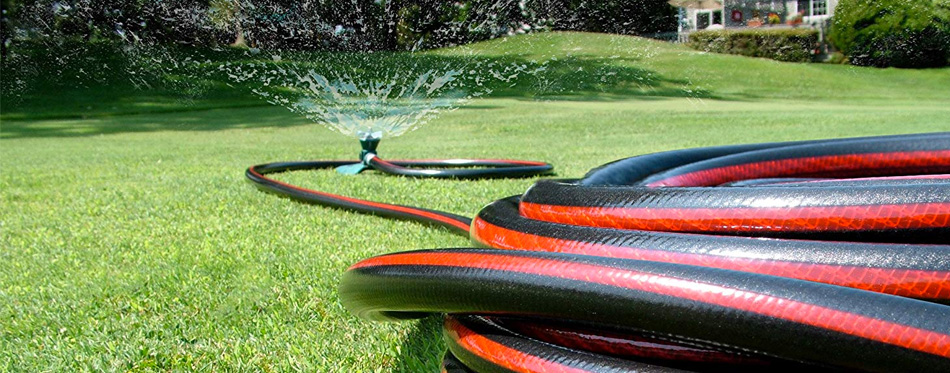 hose in the garden