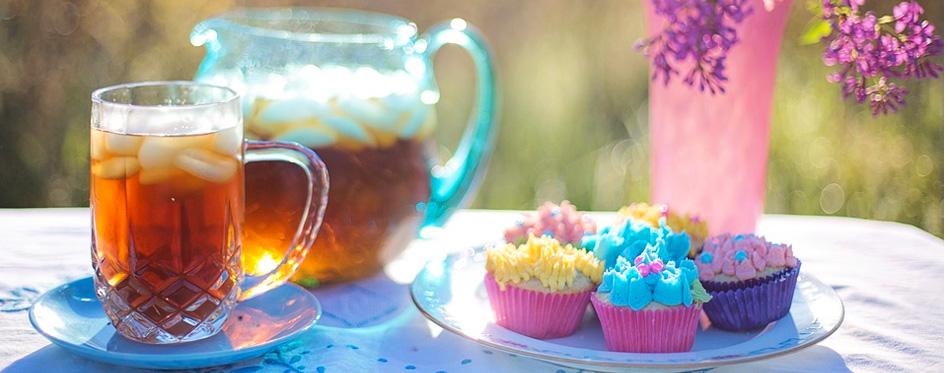 iced tea on the table