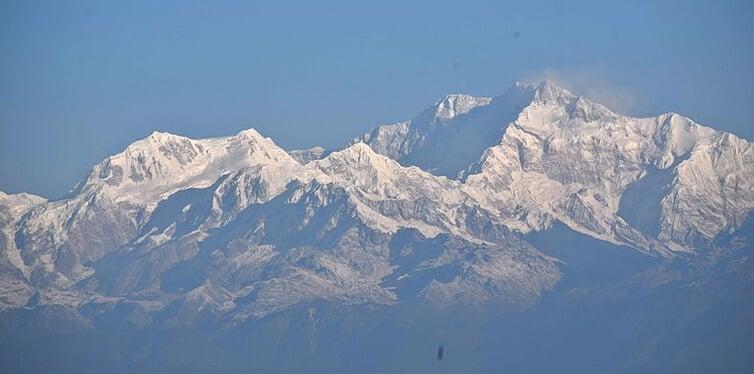 kanchenjunga, india-nepal border