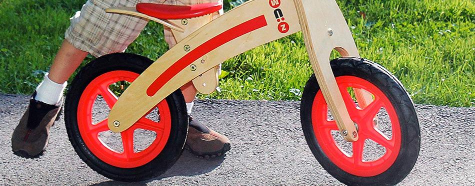 a balance bike for children