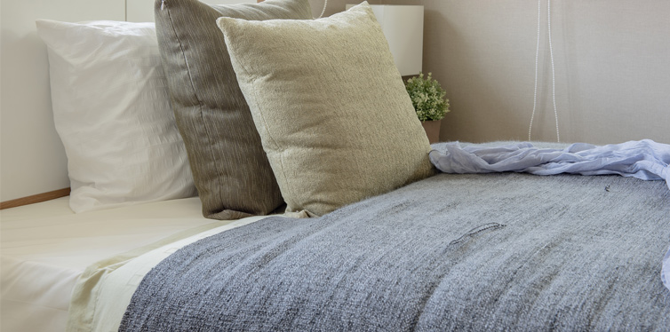 clean bedsheets