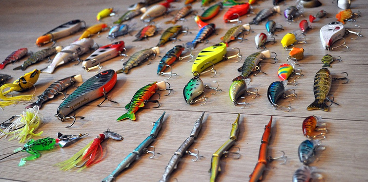 fishing flies and lures
