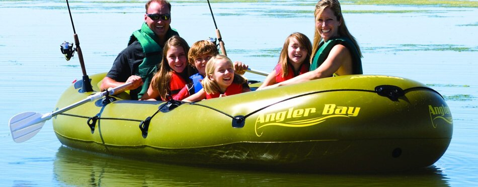 inflatable boat for family