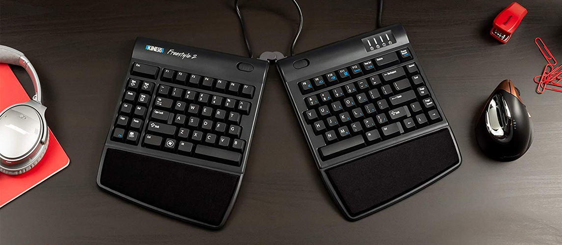 7 best ergonomic keyboards in 2019 buying guide gear hungry. Black Bedroom Furniture Sets. Home Design Ideas