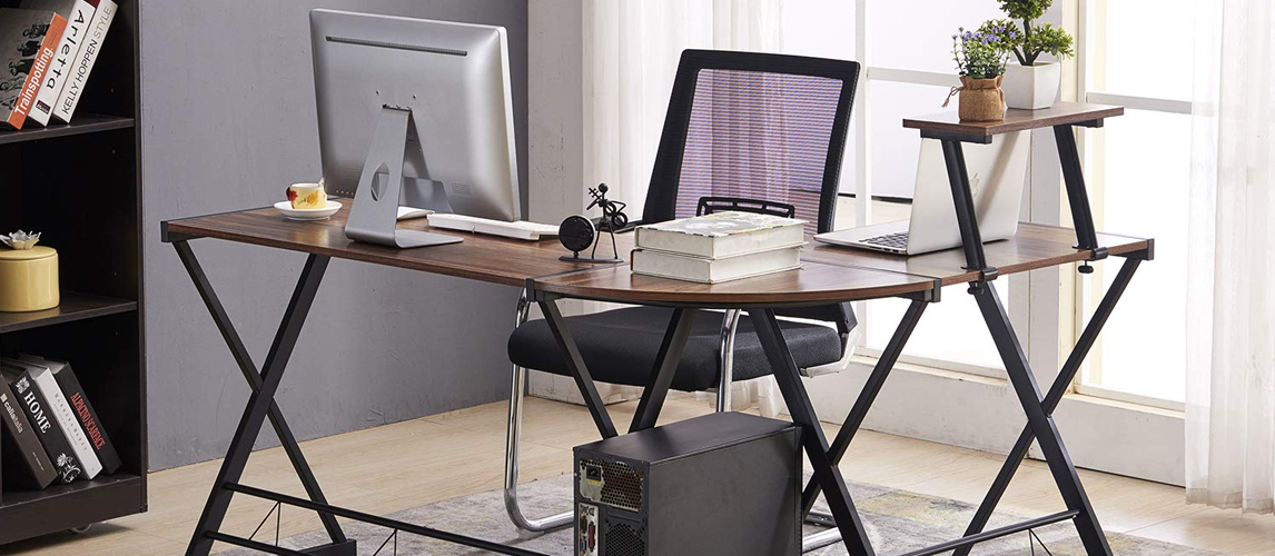 9 Best L Shaped Desks In 2020 Buying Guide Gear Hungry