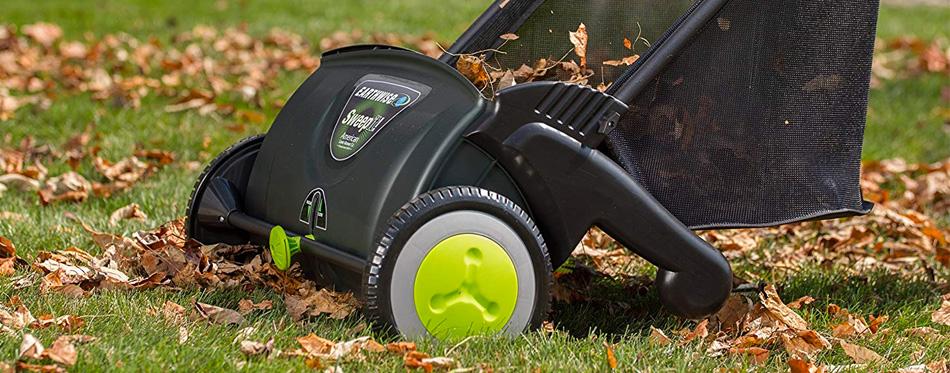 lawn dethatcher yard sweeper