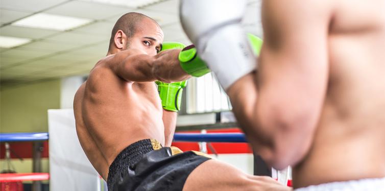men in the ring