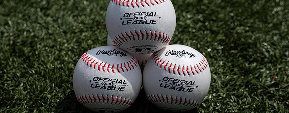 baseballs on the ground