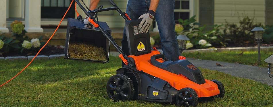 electric push lawn mower