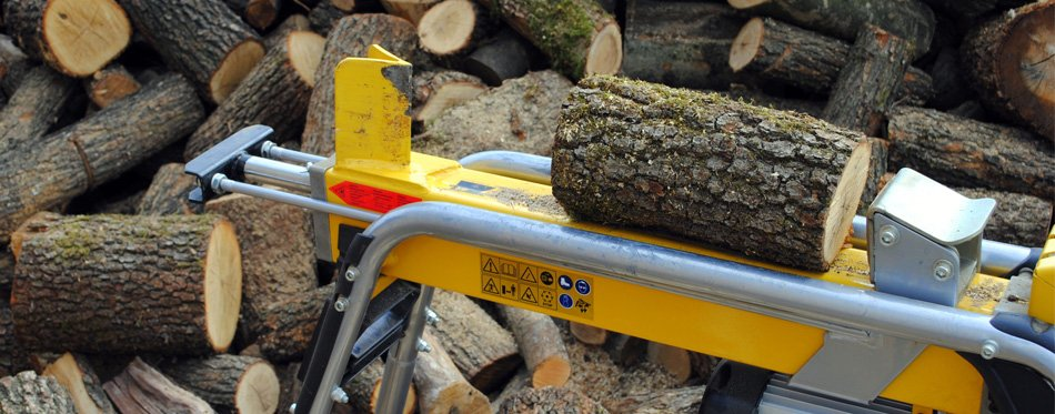 log splitter machine