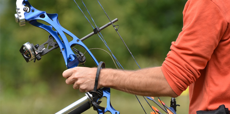 man holding a bow