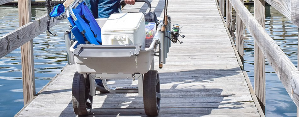 surf fishing cart
