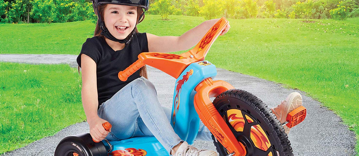 Razor RipRider 360 Caster Trike Blue Ideal Gifts For KIds MX Style Handlebar NEW
