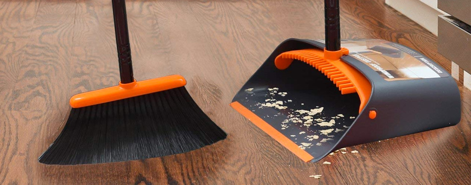 Dust Pan And Brush