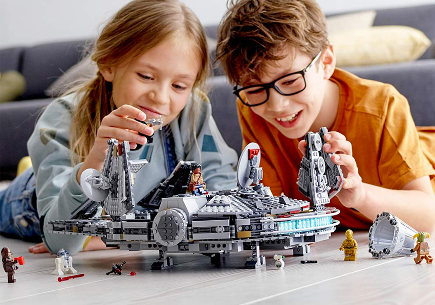 Lego Star Wars The Rise Of Skywalker Millennium Falcon Gear Hungry
