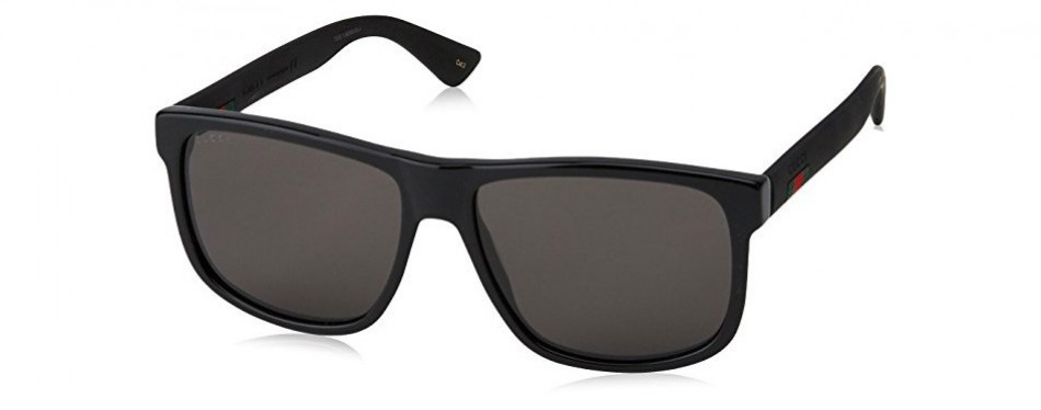 0010s-001 black/grey gucci sunglasses