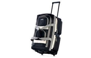 Olympia Luggage 8 Pocket Rolling Duffel Bag
