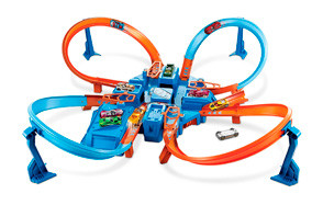 criss cross crash hot wheels track set