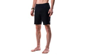 crow swerve men's yoga shorts odor-resistant inner liner