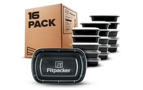 fitpacker 16 pack meal prep containers