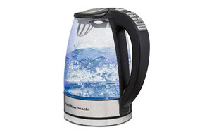 hamilton beach 40941 glass electric smart kettle