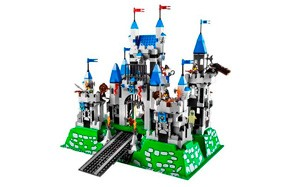 knights kingdom royal lego castle set