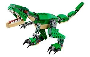 lego creator set mighty dinosaurs dinosaur toy