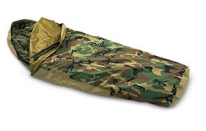 tennier woodland camouflage waterproof bivy sack